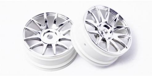 HSP GT Drift Star / GT Night Drift: All-Chrome Rim (2 pcs)