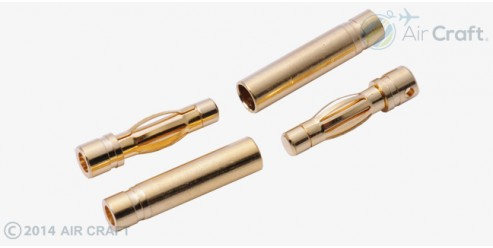 4.0mm Gold Connector Set