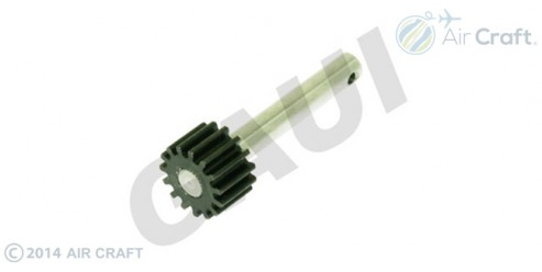 Gaui Pulley Shaft with Steel Gear (15T) for Gaui550
