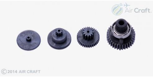 Graupner Servo Gear Set for DES 677 BB ( 7942-2 )
