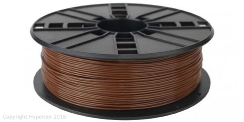 3D Printer PLA Filament, 1.75mm, 0.5kg (Wood)
