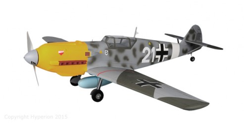 "Replacement Canopy for Messerschmitt Bf 109 ""Emil"" 25e"