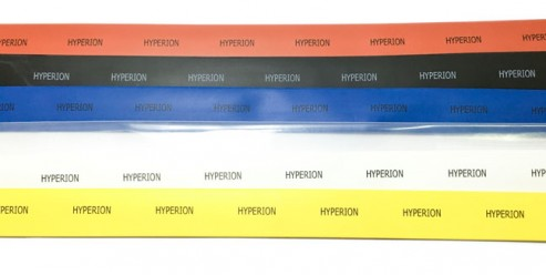 Hyperion 10mm Heat Shrink Tube 1-Meter, Yellow