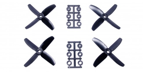 3x3 Four-Blade Prop Black (CW & CCW 2 pairs)