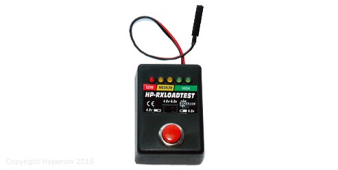 Receiver Battery Load Tester