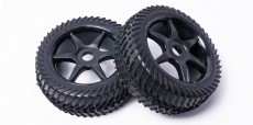 HSP Bazooka B3: Wheel & Tire 2sets (wheels all-black)
