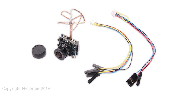Hyperion Mini Camera with 25mw/200mw Selectable VTX